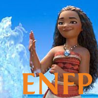 Moana - ENFP. Visit marissabaker.wordpress.com for more Disney princess types