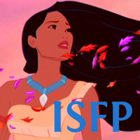 Pocahontas - ISFP. Visit marissabaker.wordpress.com for more Disney princess types
