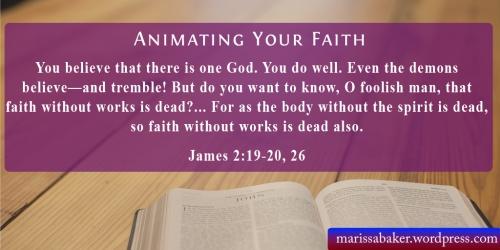 "click to read article, ""Animating Your Faith"" | marissabaker.wordpress.com"