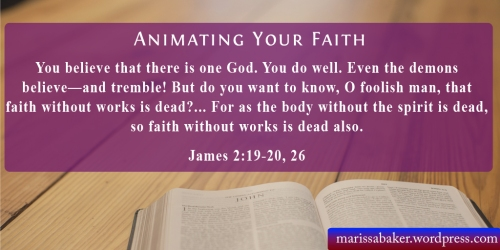 "click to read article, ""Animating Your Faith"" 