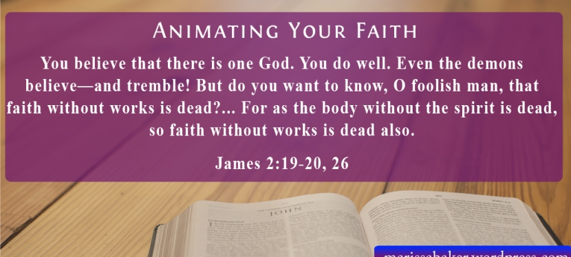 Animating Your Faith