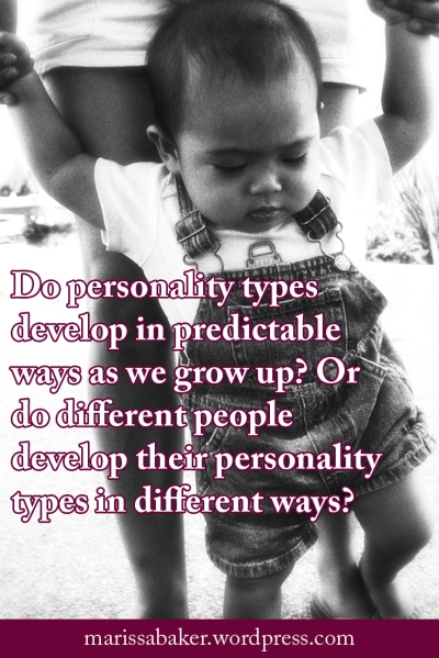 "click to read article, ""Let's Talk About How Our Personalities Develop"" 