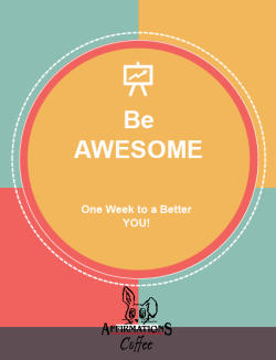 E-Book review: One Week To A Better You | marissabaker.wordpress.com