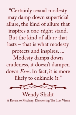 "click to read article, ""Not Ashamed of Modesty"" 