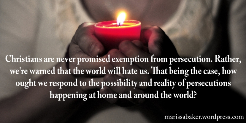 Expecting Persecution: Responding To The World'sHate