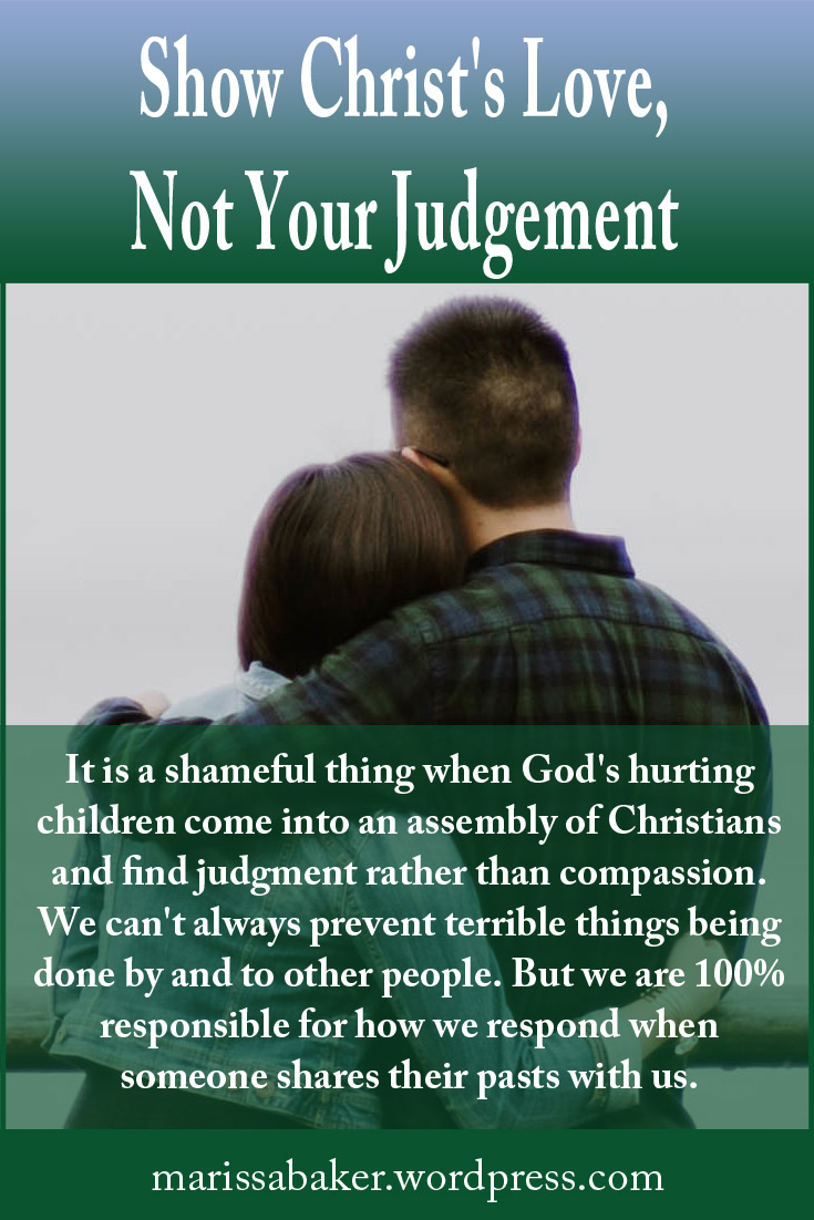 Show Christ's Love, Not Your Judgement – Like An Anchor