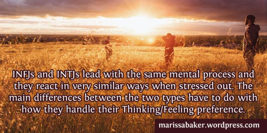 Thinking vs. Feeling in INxJ Personality Types"