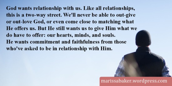 Being A Faithful Servant | marissabaker.wordpress.com