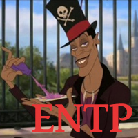 Facilier - ENTP. Visit marissabaker.wordpress.com for more Disney villain types