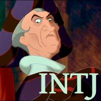 Frollo - INTJ. Visit marissabaker.wordpress.com for more Disney villain types