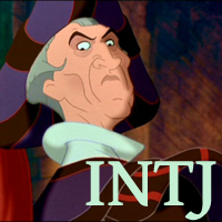 Frollo - INTJ. Visit marissabaker.wordpress.com for more Disney villain types