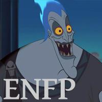 Hades - ENFP. Visit marissabaker.wordpress.com for more Disney villain types