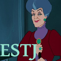 Lady Tremaine - ESTJ. Visit marissabaker.wordpress.com for more Disney villain types