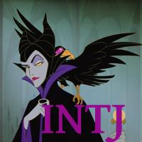 Maleficent - INTJ. Visit marissabaker.wordpress.com for more Disney villain types