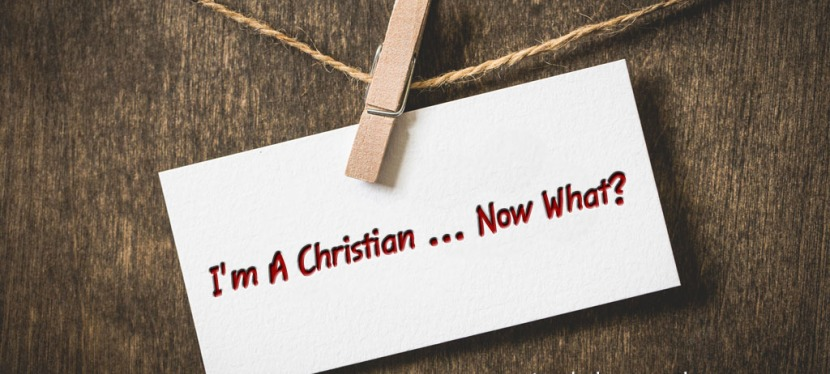 I'm A Christian … Now What?