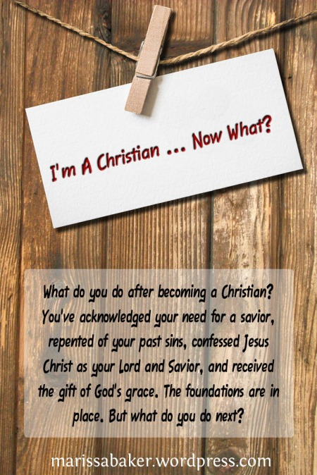 I'm A Christian ... Now What? | marissabaker.wordpress.com