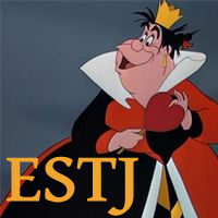 Queen of Hearts - ESTJ. Visit marissabaker.wordpress.com for more Disney villain types