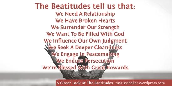 A Closer Look At The Beatitudes | marissabaker.wordpress.com