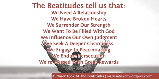 A Closer Look At The Beatitudes | marissabaker.wordpress.com