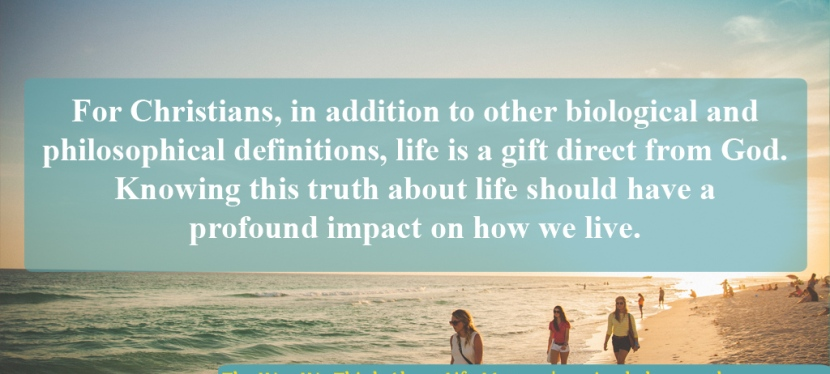 This Is Why The Way We Think About LifeMatters