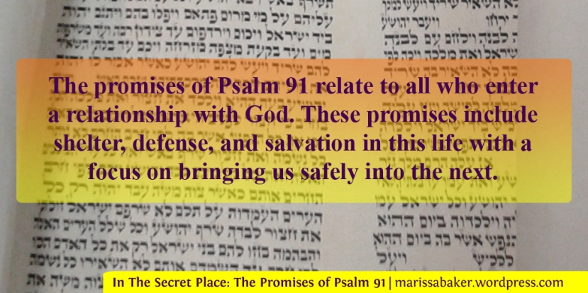 In The Secret Place: The Promises of Psalm 91