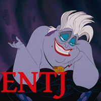 Ursula - ENTJ. Visit marissabaker.wordpress.com for more Disney villain types