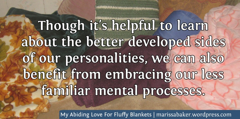 My Abiding Love For Fluffy Blankets, And Other Quirky Ways The Less-Developed Sides Of Our Personalities Show Up