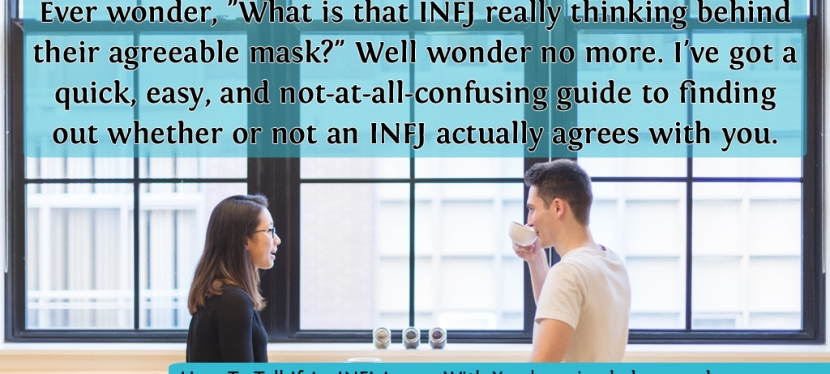 Your Not-At-All-Confusing Guide To Finding Out If An INFJ Agrees With You