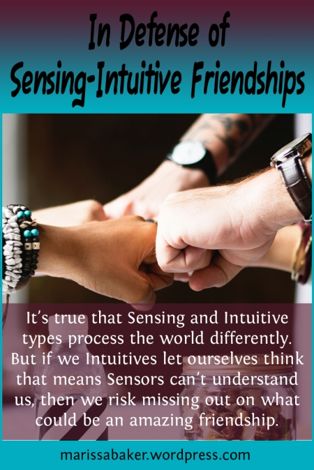 In Defense of Sensing-Intuitive Friendships | marissabaker.wordpress.com
