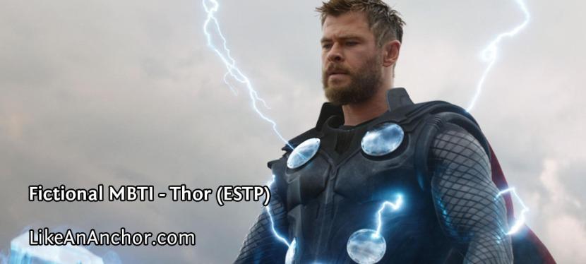 Fictional MBTI – Thor(ESTP)