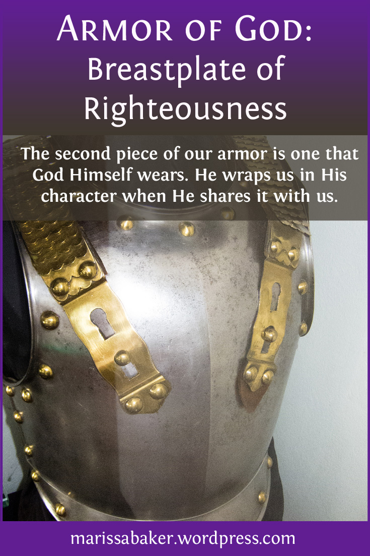 Breastplate Of Righteousness Like An Anchor