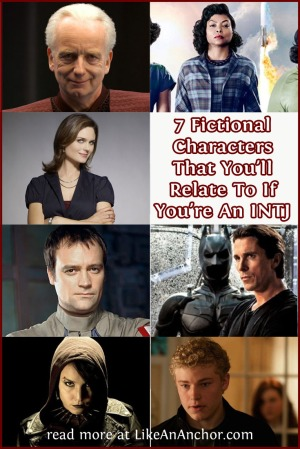 7 Fictional Characters That You'll Relate to If You're An INTJ | LikeAnAnchor.com