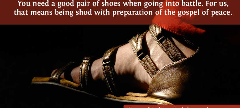 Footwear Of The Gospel