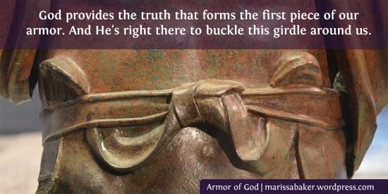 The Girdle of Truth | marissabaker.wordpress.com