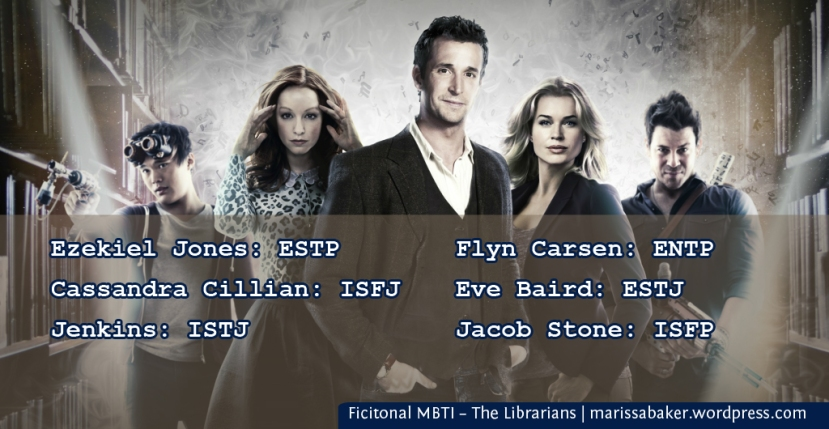 Ficitonal MBTI – The Librarians