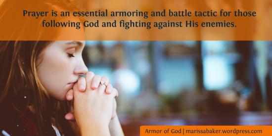 Praying At All Times | marissabaker.wordpress.com