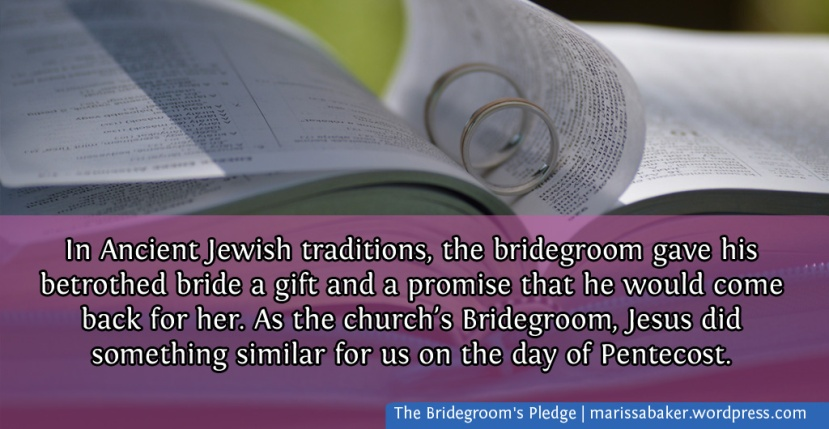 The Bridegroom's Pledge