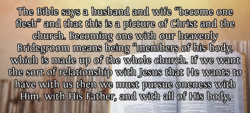 Becoming One Flesh With JesusChrist