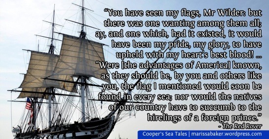 The Pilot and The Red Rover: James Fenimore Cooper's love-letters to the sea | marissabaker.wordpress.com