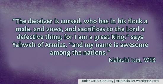 Under God's Authority | marissabaker.wordpress.com