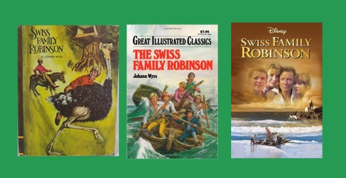 Ostriches, 200-year-old Fanfiction, and TheSwiss Family Robinson | LikeAnAnchor.com