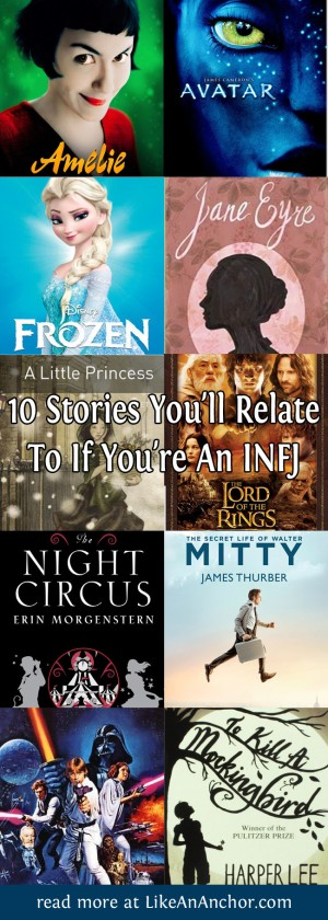 10 Stories You'll Relate To If You're An INFJ | LikeAnAnchor.com