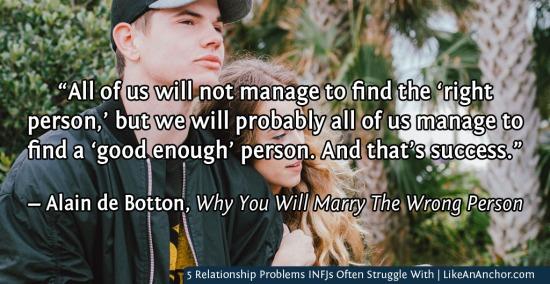 5 Relationship Problems INFJs Often Struggle With | LikeAnAnchor.com