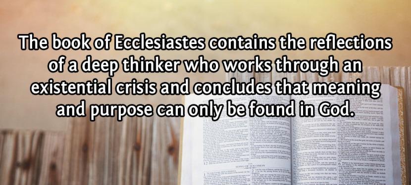Crash Course InEcclesiastes