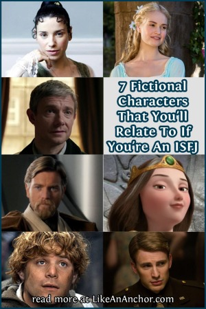 7 Fictional Characters That You'll Relate to If You're An ISFJ | LikeAnAnchor.com