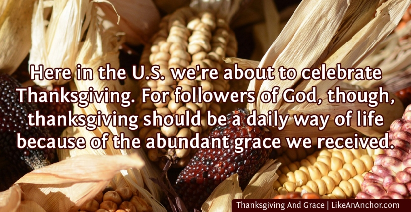 Thanksgiving And Grace