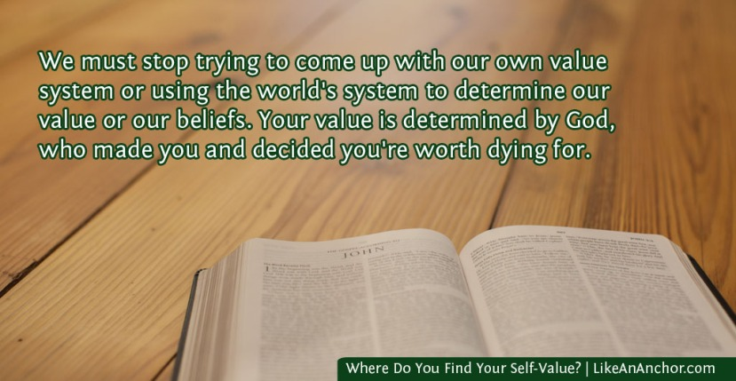 Where Do You Find Your Self-Value?