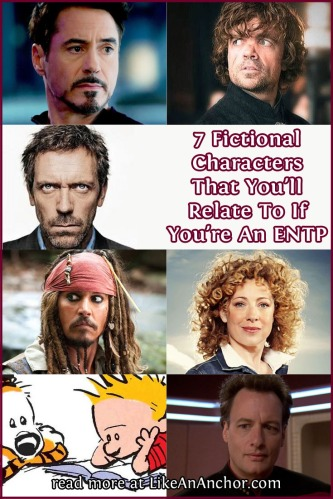 7 Fictional Characters That You'll Relate to If You're An ENTP | LikeAnAnchor.com