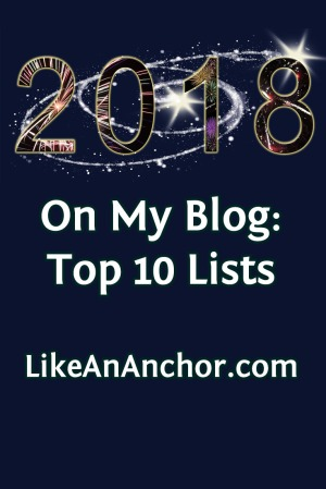 On My Blog: Top 10 Lists | LikeAnAnchor.com