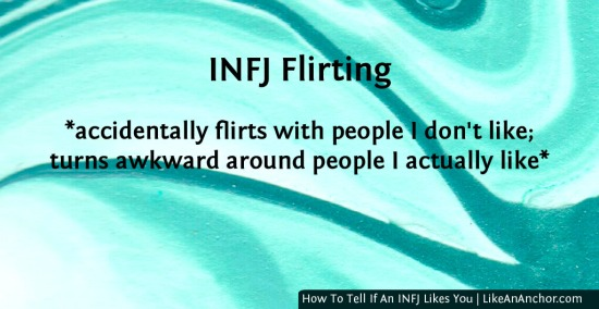 How To Tell If An INFJ Likes You | LikeAnAnchor.com
